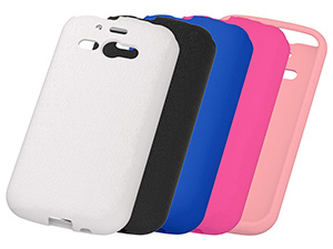 【SoftBank AQUOS PHONE ss 205SH/WILLCOM AQUOS PHONE es WX04SH/WILLCOM AQUOS PHONE ef WX05SH】スリップガード・シリコンジャケット