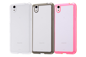 【AQUOS EVER/AQUOS U/Disney Mobile on docomo DM-01J/UQmobile AQUOS L/SH-M04/SH-M04-A/AQUOS L2】ハイブリッドケース