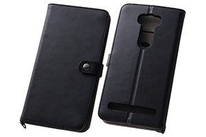 【ASUS ZenFone™ 2 Laser ZE601KL】シンプルブックレザーケース(合皮)