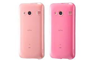 【au rafre KYV40/UQ mobile DIGNO® W】TPUソフトケース ウルトラクリア