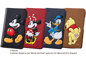 【AQUOS Compact/Disney Mobile on docomo DM-01H/AQUOS Xx2 mini/AQUOS SERIE mini/AQUOS mini】ディズニー・ポップアップ・ブックレザーケース(合皮)