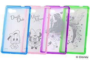【AQUOS Compact/Disney Mobile on docomo DM-01H/AQUOS Xx2 mini/AQUOS SERIE mini/AQUOS mini】ディズニー・ハイブリッドケース