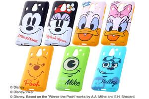 【Disney Mobile on docomo F-03F】ディズニー・クローズアップソフトジャケット