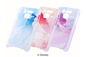 【Disney Mobile on docomo F-07E】ディズニー・プリンセスシリーズ・シェルジャケット