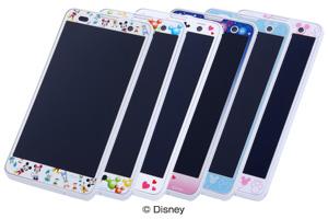 【Disney Mobile on docomo F-07E】ディズニーキャラクター・ドレスアップフィルム