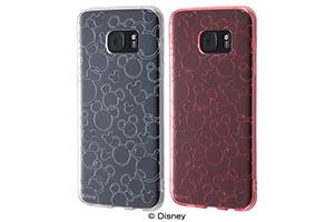 【docomo Galaxy S7 edge SC-02H/au Galaxy S7 edge SCV33】ディズニー TPUソフトケース キラキラ