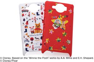 【Disney Mobile on SoftBank DM009SH/SoftBank GALAPAGOS 003SH】ディズニーキャラクター・シェルジャケット