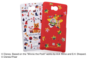 【Disney Mobile on SoftBank DM012SH/SoftBank AQUOS PHONE 103SH】ディズニーキャラクター・シェルジャケット