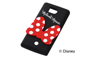 【Disney Mobile on SoftBank DM012SHDM012SH/SoftBank AQUOS PHONE 103SH】ディズニーキャラクター・ダイカット・シリコンジャケット