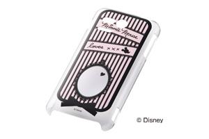 【Disney Mobile on SoftBank DM013SH/PANTONE® 5 SoftBank 107SH】ディズニーキャラクター・クリアラメ・シェルジャケット
