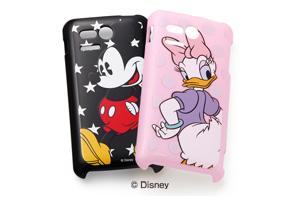 【Disney Mobile on SoftBank DM013SH/PANTONE® 5 SoftBank 107SH】ディズニーキャラクター・シェルジャケット