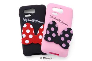 【Disney Mobile on SoftBank DM013SH/PANTONE® 5 SoftBank 107SH】ディズニーキャラクター・ダイカット・シリコンジャケット