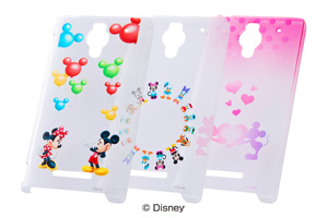 【Disney Mobile on SoftBank DM016SH/AQUOS PHONE Xx 302SH】ディズニー・シェルジャケット