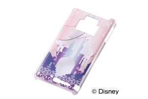 【Disney Mobile on docomo F-08D/docomo REGZA Phone T-01D】ディズニーキャラクター・クリアラメ・シェルジャケット