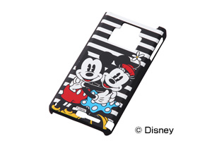 【Disney Mobile on docomo F-08D/docomo REGZA Phone T-01D】ディズニーキャラクター・シェルジャケット