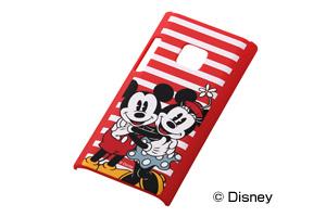 【Disney Mobile on docomo P-05D/docomo P-04D/SoftBank 102P】ディズニーキャラクター・シェルジャケット
