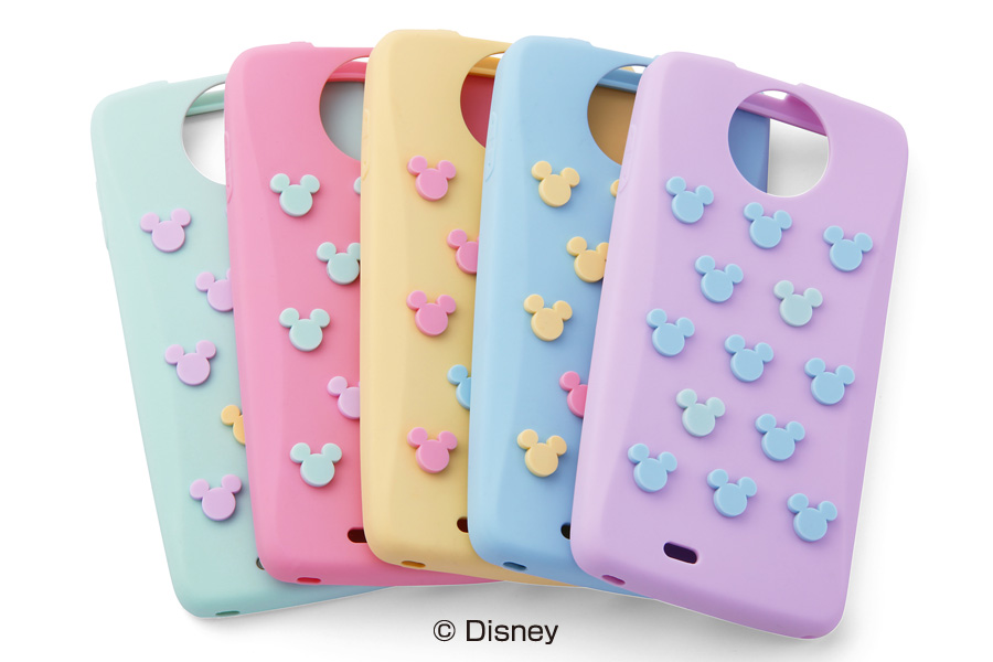 【Disney Mobile on docomo N-03E】ディズニーキャラクター・シリコンジャケット