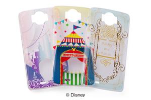 【Disney Mobile on docomo N-03E】ディズニーキャラクター・クリアラメ・シェルジャケット