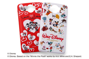 【Disney Mobile on docomo N-03E】ディズニーキャラクター・シェルジャケット【生産終了】
