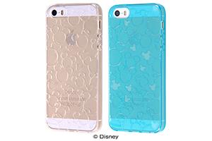 【Apple iPhone SE/iPhone 5s/iPhone 5】ディズニー TPUソフトケース キラキラ
