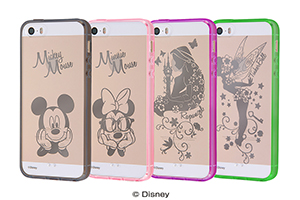 【Apple iPhone SE/iPhone 5s/iPhone 5】ディズニー ハイブリッドケース