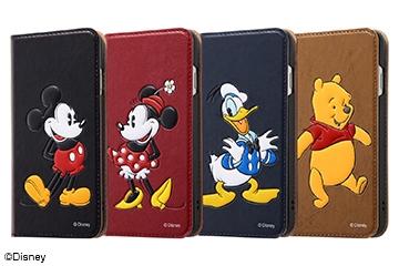 【Apple iPhone SE(第2世代)/iPhone 8/iPhone 7】ディズニーキャラクター/手帳型ケース スタンディング