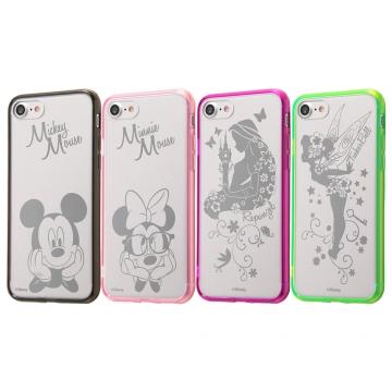 【Apple iPhone SE(第2世代)/iPhone 8/iPhone 7】ディズニーキャラクター/ハイブリッドケース