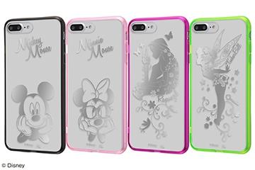 【Apple iPhone 7 Plus/iPhone 8 Plus】ディズニーキャラクター/ハイブリッドケース