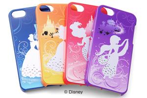【Apple iPhone SE/iPhone 5s/iPhone 5】ディズニーキャラクター・ジュエリー・シェルジャケット