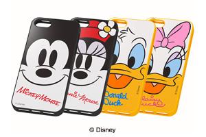 【Apple iPhone SE/iPhone 5s/iPhone 5】ディズニーキャラクター・ソフトジャケット