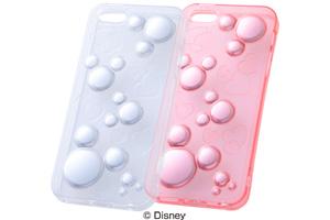 【Apple iPhone SE/iPhone 5s/iPhone 5】ディズニー・キラキラ・ソフトジャケット