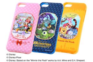 【Apple iPhone 5c】ディズニーキャラクター・ポップアップ・ソフトジャケット
