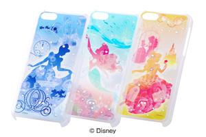 【Apple iPhone 5c】ディズニーキャラクター・ジュエリー・シェルジャケット