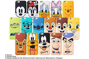 【Apple iPhone 6/iPhone 6s】ディズニー・クローズアップ・ソフトジャケット