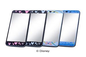 【Disney Mobile on docomo SH-05F】ディズニー・ドレスアップフィルム
