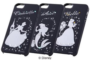 【Apple iPhone SE/iPhone 5s/iPhone 5】ディズニー・ジュエリージャケット