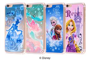 【Apple iPhone 6/iPhone 6s】ディズニー・ジュエリーシェルジャケット