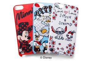 【iPod touch 第5世代(2012)/第5世代 16GB(2014)/第6世代(2015)/第7世代(2019)】ディズニーキャラクター・シェルジャケット