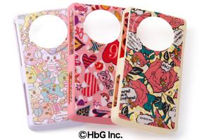 【docomo LUMIX Phone P-02D/SoftBank LUMIX Phone 101P】HbGキャラクター・シェルジャケット