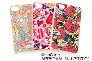 【Applei Phone 4S、iPhone 4】HbGキャラクター・シェルジャケット