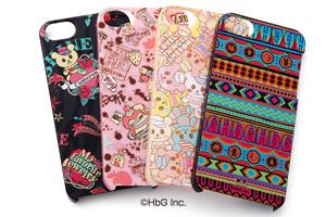 【Apple iPhone SE/iPhone 5s/iPhone 5】HbGキャラクター・シェルジャケット