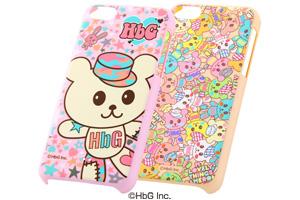 【Apple iPhone 5c】HbGキャラクター・シェルジャケット