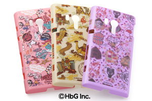 【docomo Xperia™ acro HD SO-03Dau Xperia™ acro HD IS12S】HbGキャラクター・シェルジャケット