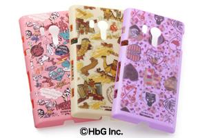 【Xperia™  acro HD】HbGキャラクター・シェルジャケット