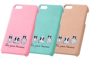 【Apple iPhone SE/iPhone 5s/iPhone 5】スマホ女子・ジュエリー・レザージャケット(合皮タイプ)