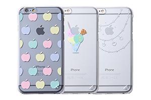 【Apple iPhone 6/iPhone 6s】スマホ女子・デザイン・シェルジャケット