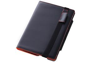 【Amazon Kindle Fire HDX 8.9】スリープモード対応フラップタイプ・レザージャケット(合皮タイプ)