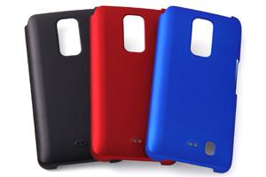 【docomo Optimus LTE L-01D】ラバーコーティング・シェルジャケット