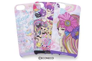 【Apple iPhone SE/iPhone 5s/iPhone 5】ECONECO・キャラクター・シェルジャケット