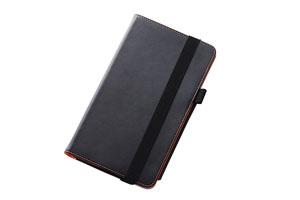 【Y!mobile MediaPad M1 8.0 403HW/HUAWEI MediaPad M1 8.0/docomo dtab d-01G】フラップタイプ・レザージャケット(合皮タイプ)